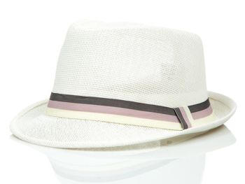 Bíly pánsky klobouk Bolf CZ31A