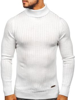 Bílý pánský rolák Bolf 3070
