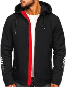 Černá pánská přechodová bunda Bolf 5985