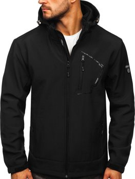 Černá pánská softshellová bunda Bolf BK124
