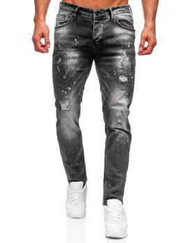 Černé pánské džíny regular fit Bolf R910
