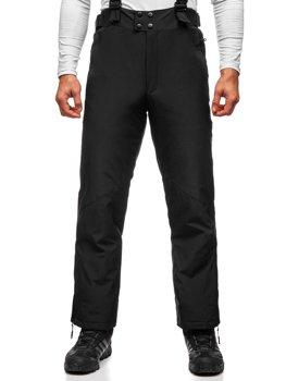 Černé pánské lyžařské kalhoty Bolf BK161