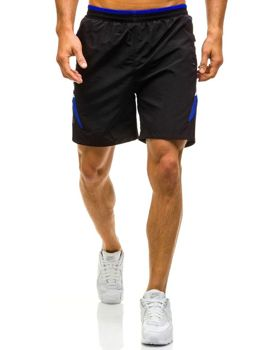 Černé pánské plavecké šortky Bolf WK17