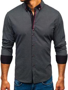 42ddd4fa418 Pánské košile se vzorem