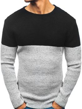 Černý pánský svetr Bolf 164