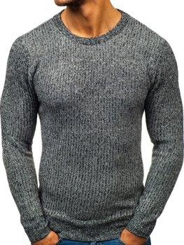 Grafitový pánský svetr Bolf H1818