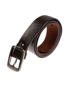 Hnědý pánský kožený pásek Bolf P006-A
