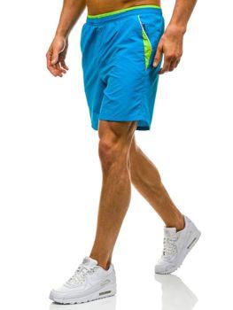 Modré pánské plavecké šortky Bolf WK15