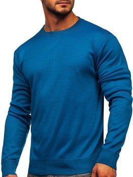 Modro-zelený pánský svetr Bolf GFC01