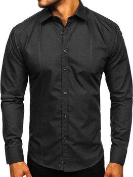 Pánská košile BOLF 4705G černá