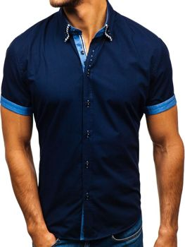Pánské košile s krátkým rukávem f51c0e3367