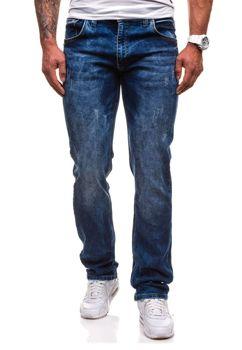 Tmavě modré pánské džíny Bolf 4447