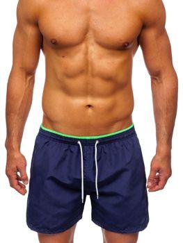 Tmavě modré pánské plavecké šortky Bolf 303