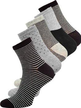 Vícebarevné pánské ponožky Bolf X10166-5P 5 PACK