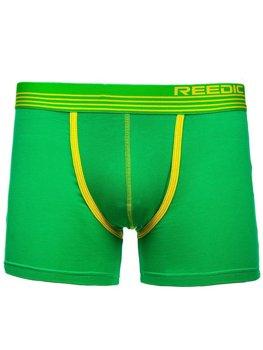Zelené pánské boxerky Bolf G513