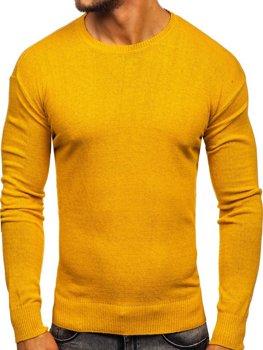 Žlutý pánský svetr Bolf 0001