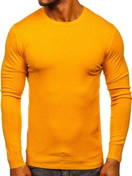 Žlutý pánský svetr Bolf YY01