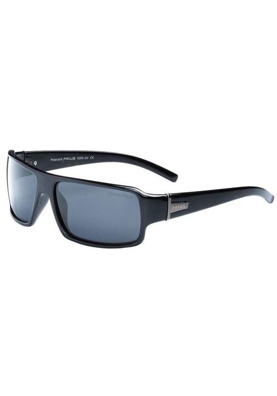Černé pánské sluneční polarizační brýle Bolf PLS225B