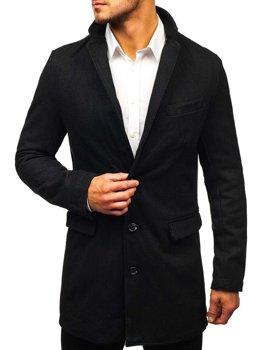 Černý pánský kabát Bolf NZ01