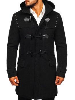 Černý pánský zimní kabát Bolf 88870