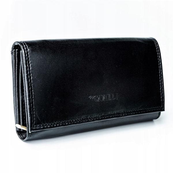 Dámská černá kožená peněženka 2776