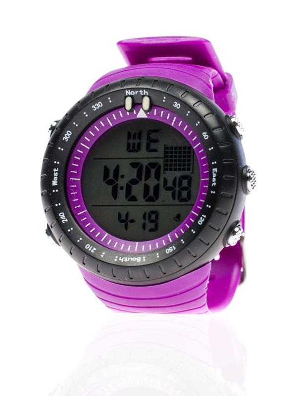 Fialové pánské hodinky Bolf 8335