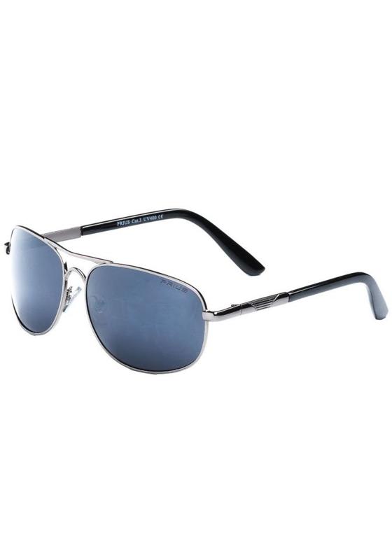 Grafitové pánské sluneční brýle Bolf P203B