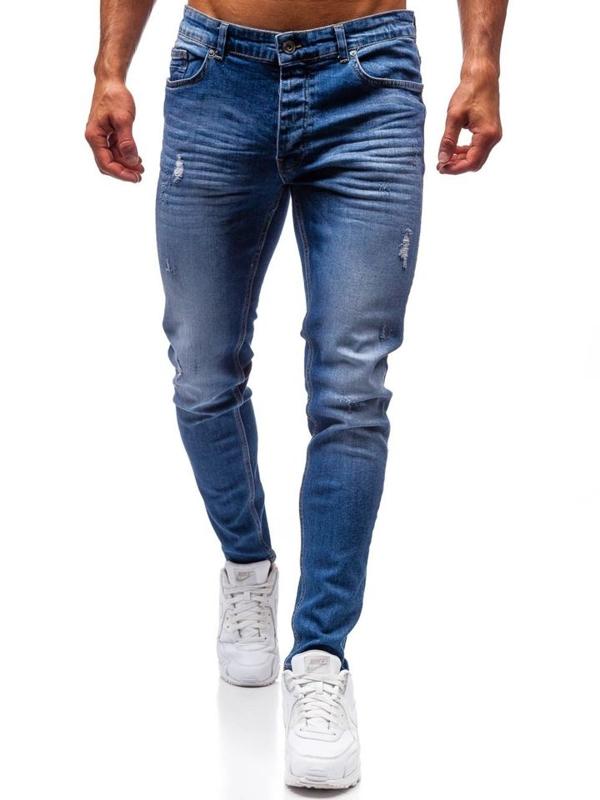 Modré pánské džíny Bolf 1007