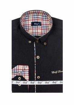 Pánská košile BOLF 5747-1 černá