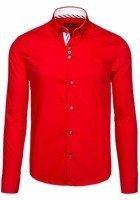 Pánská košile BOLF 5796 červená