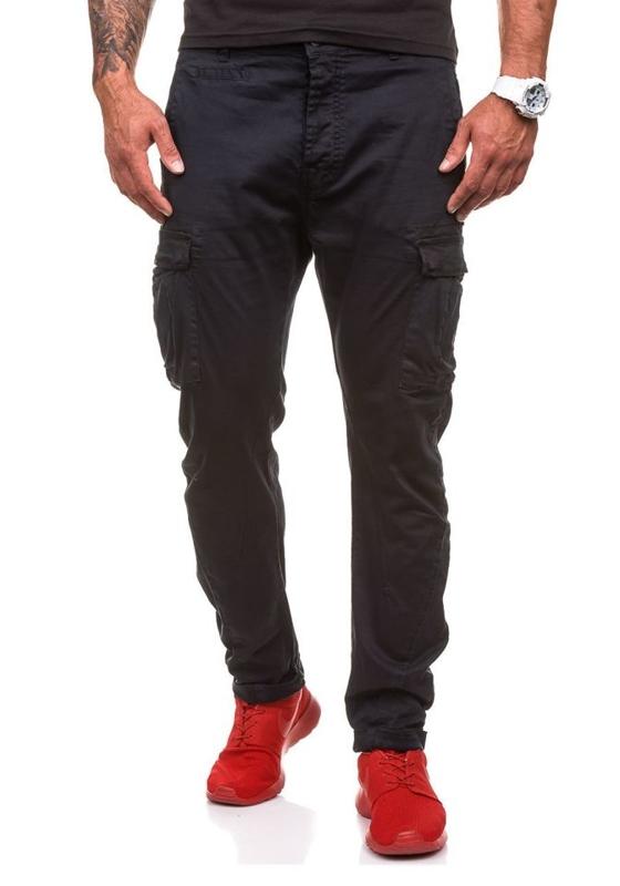 Pánské kalhoty M.SARA 8380 černé