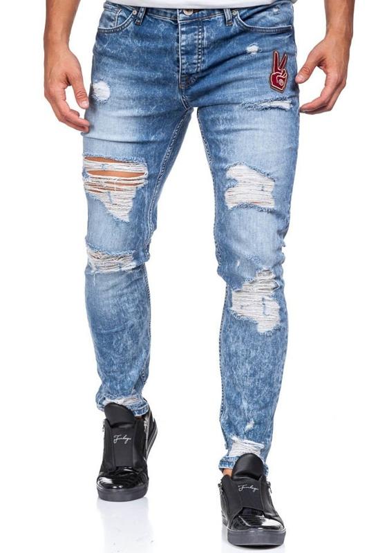 Pánské modré džíny Bolf 376