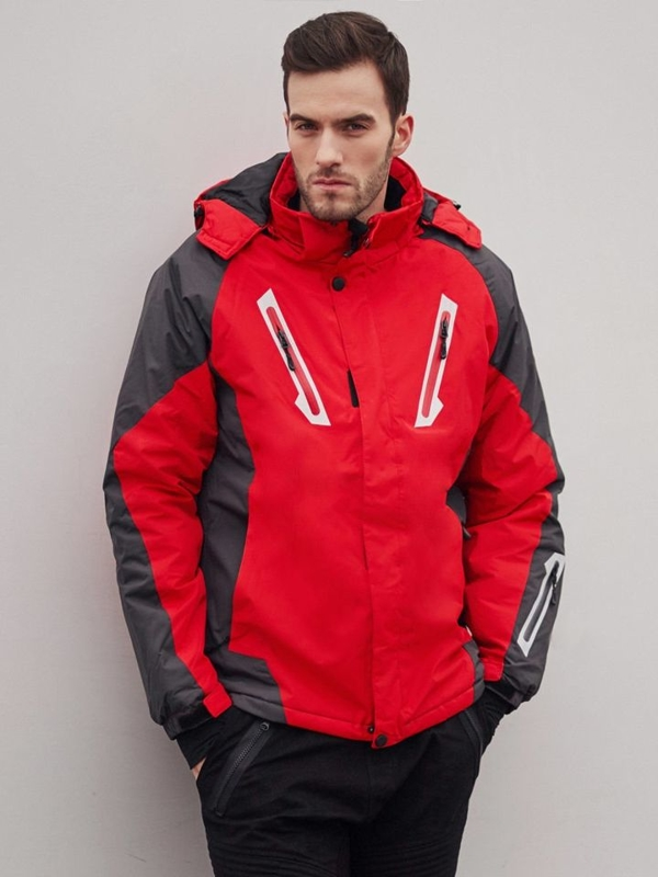 Stylizace č. 405 - lyžařská bunda, jogger kalhoty