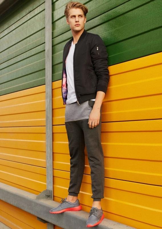 Stylizace č. 73 - bunda, tričko, baggy kalhoty