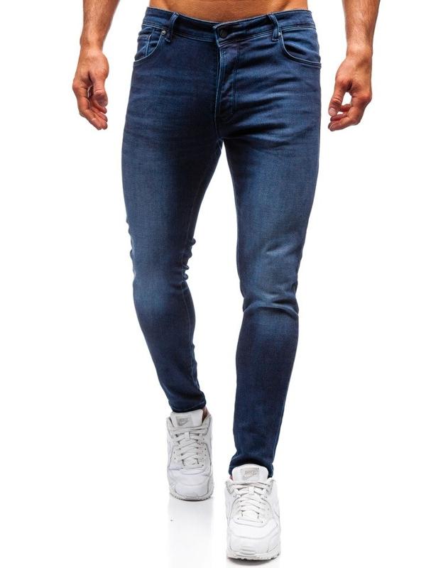 Tmavě modré pánské džíny Bolf 7163