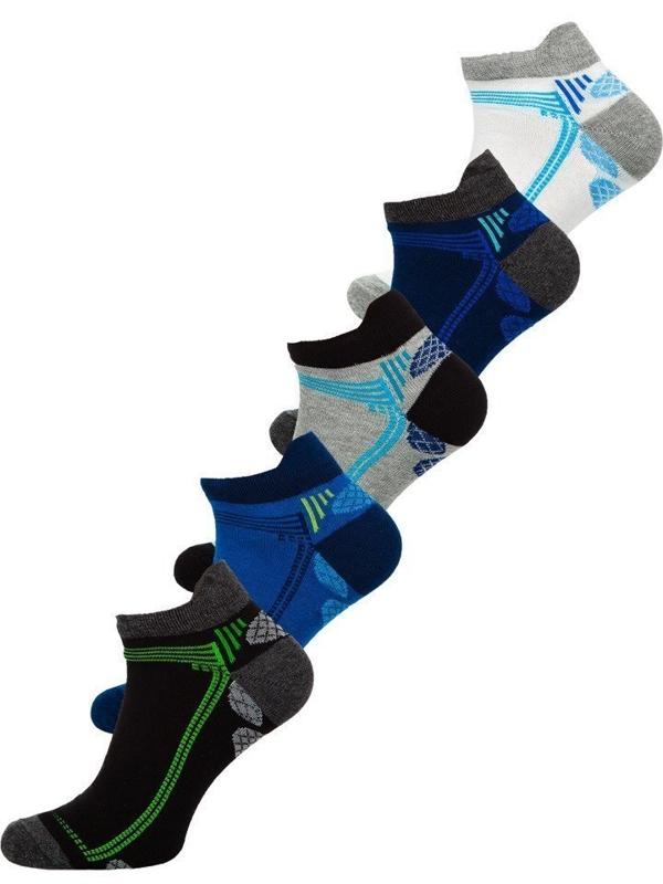 Vícebarevné pánské ponožky Bolf X10054-5P 5 PACK