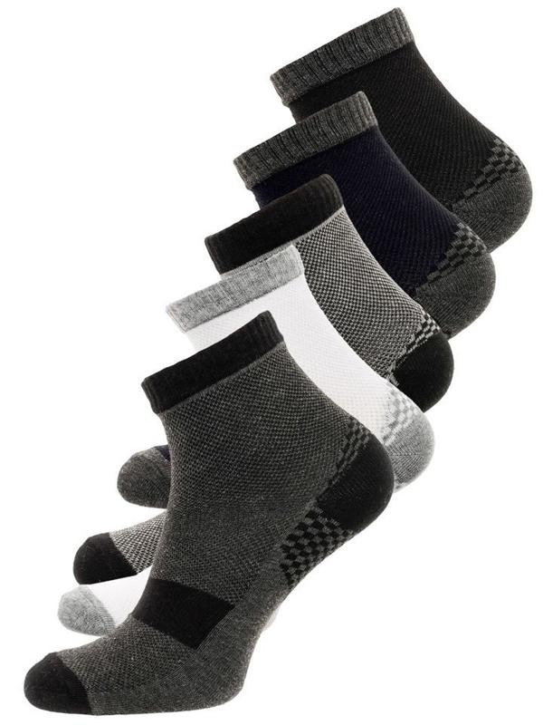 Vícebarevné pánské ponožky Bolf X110029-5P 5 PACK