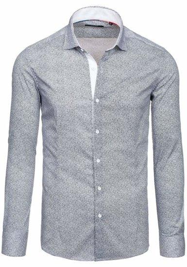 Bílá pánská košile Bolf 7182