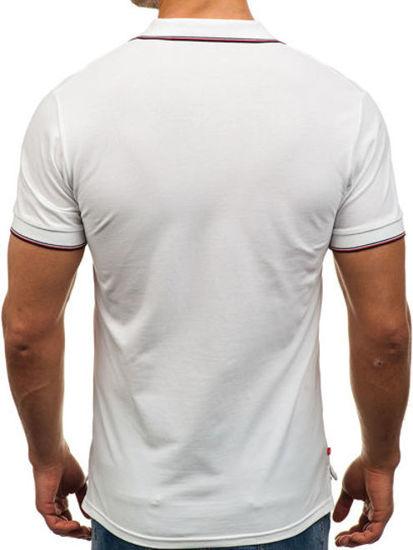 Bílá pánská polokošile Bolf 158