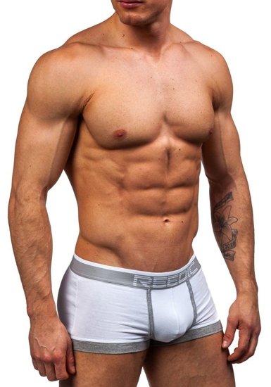 Bílé pánské boxerky Bolf G510