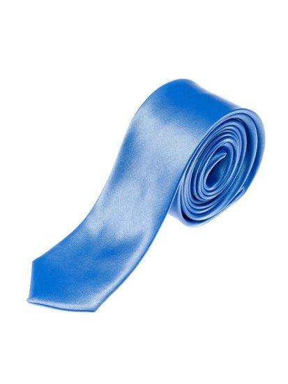 Blankytná pánská elegantní kravata Bolf K001