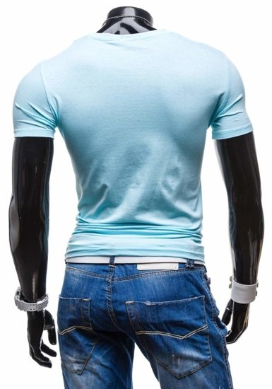 Blankytné pánské tričko Bolf 7462
