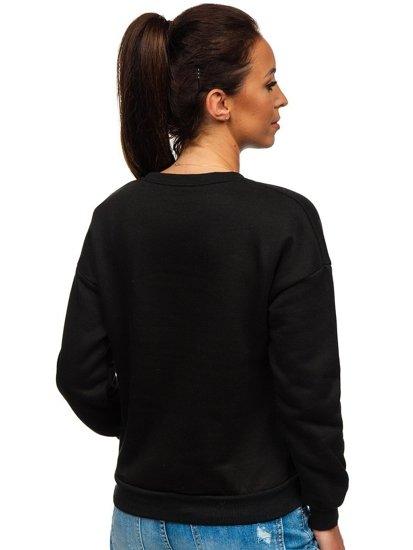 Černá dámská mikina s potiskem Bolf KSW1002