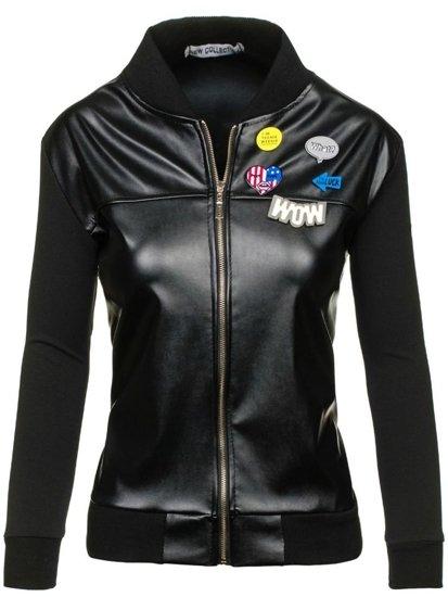 Černá dámská přechodná bunda Bolf 6290