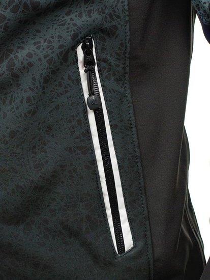 Černá pánská bunda Bolf 0013