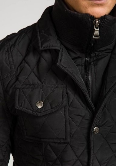 Černá pánská bunda Bolf 101A