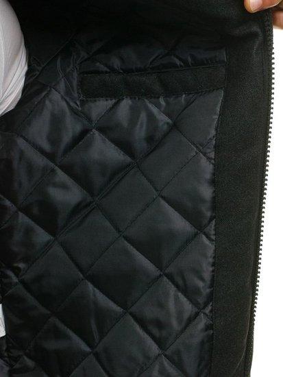 Černá pánská přechodná bunda Bolf K18
