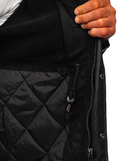 Černá pánská přechodová bunda Bolf 3356