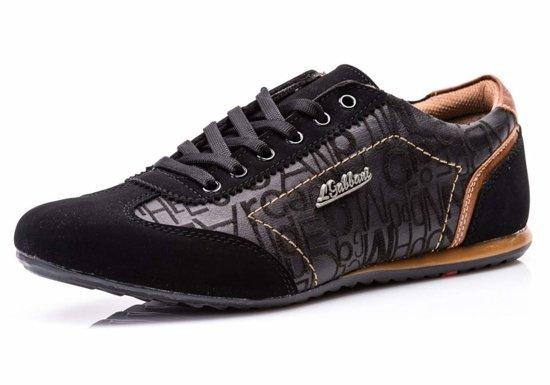Černé pánská obuv Bolf 614B