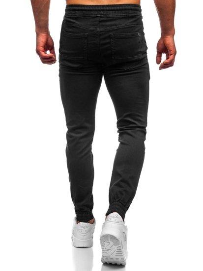 Černé pánské jogger kalhoty Bolf CT8808